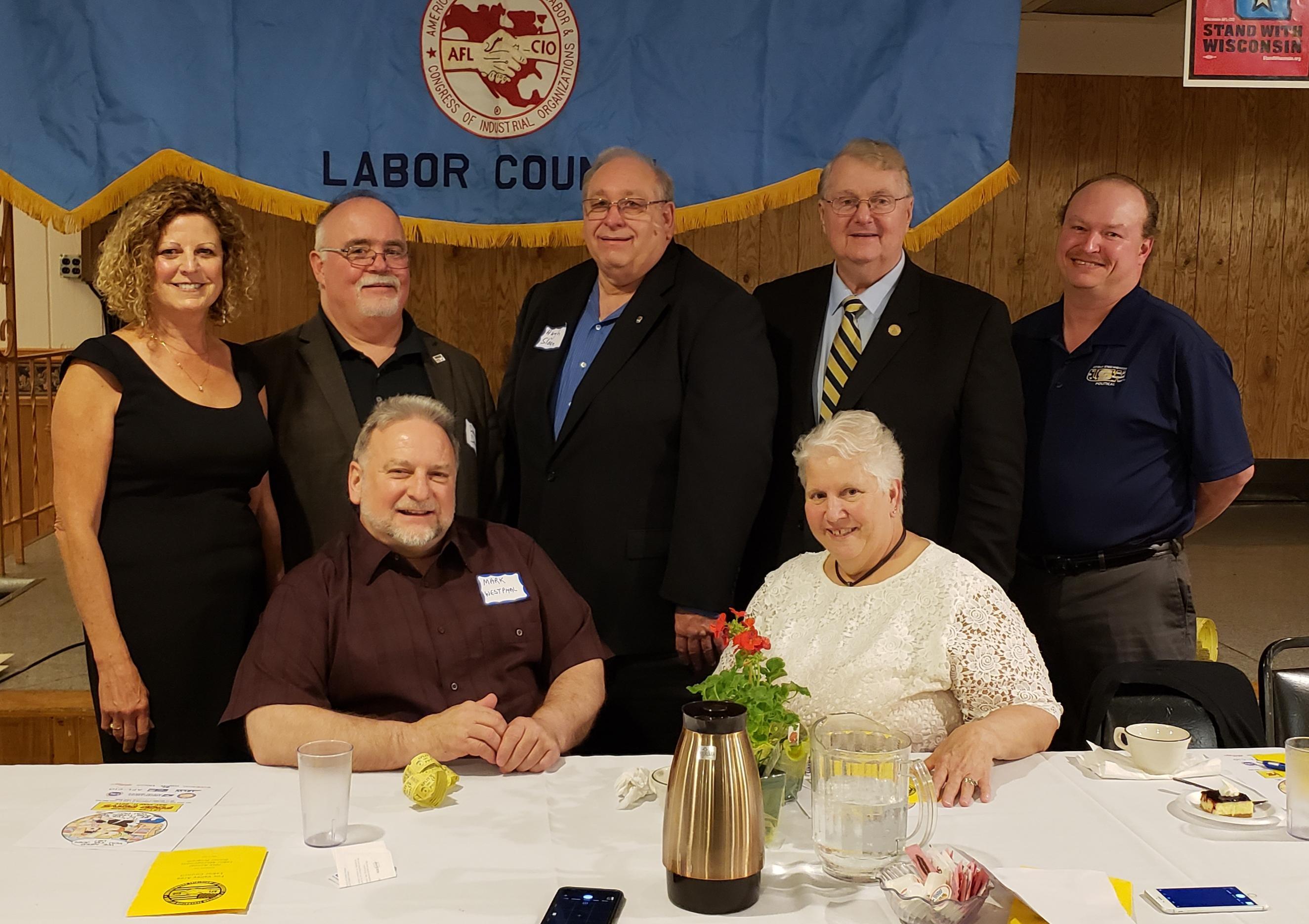 Fox Valley Area Labor Council, 70th Annual Labor Managemennt Dinner 2019